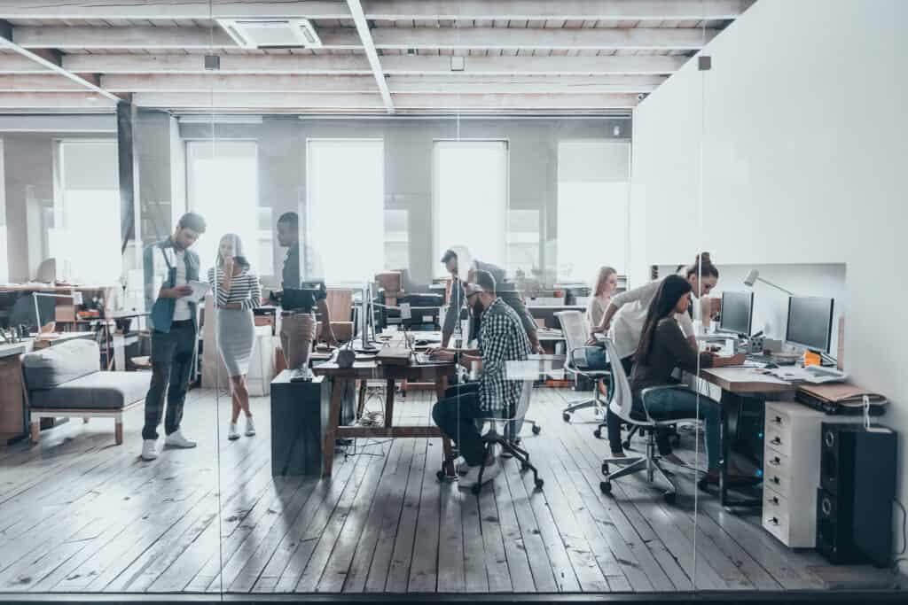 collaborative workspace 641194956