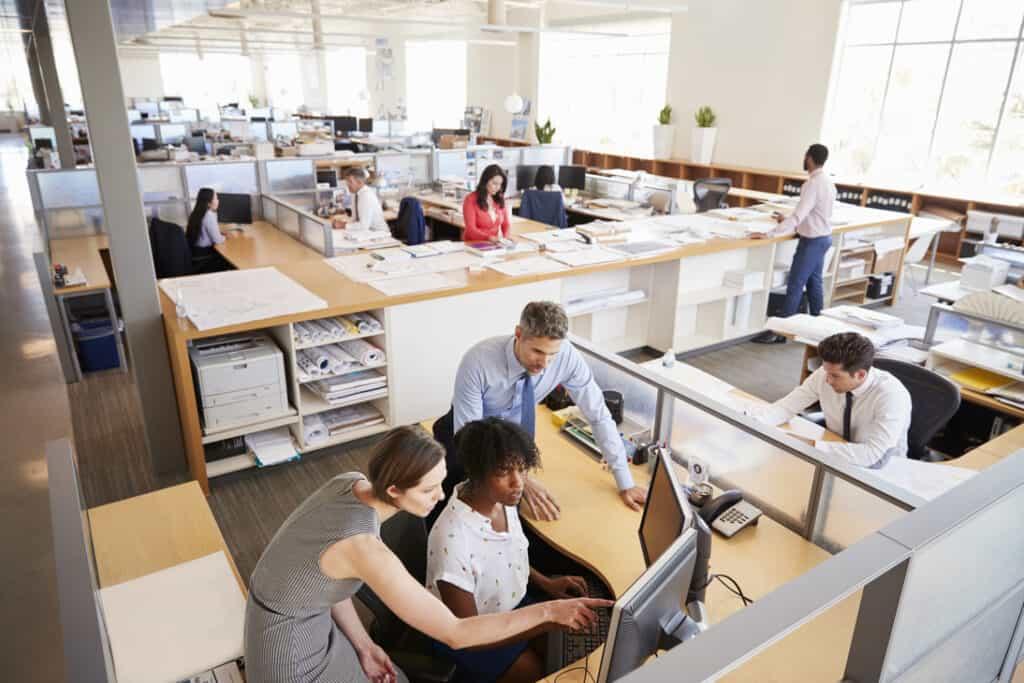 collaborative workspace 998334492